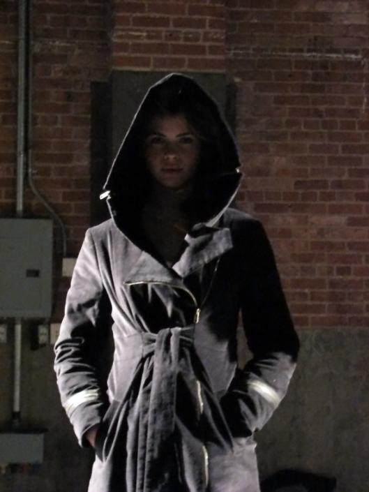 Moleskin Quilted Emily Coat