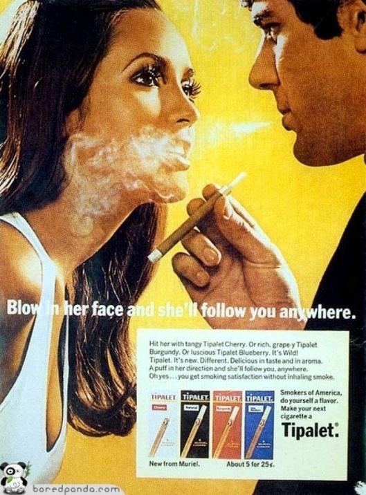 smoke cigarette controversial misogynistic ad