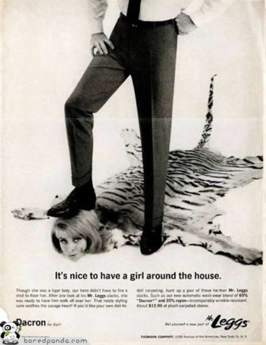 controversial misogynistic 1970'sad