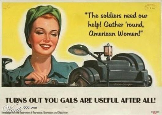 controversial misogynistic ad 1950