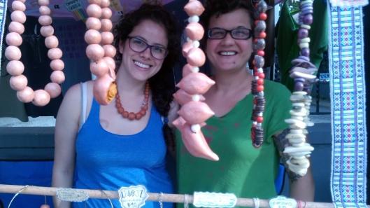 Maria Emilia and Cara Elaine