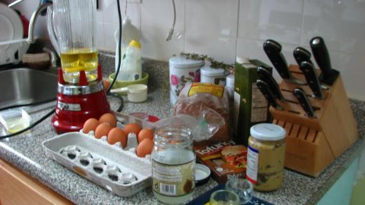 homemade coconut oil mayo