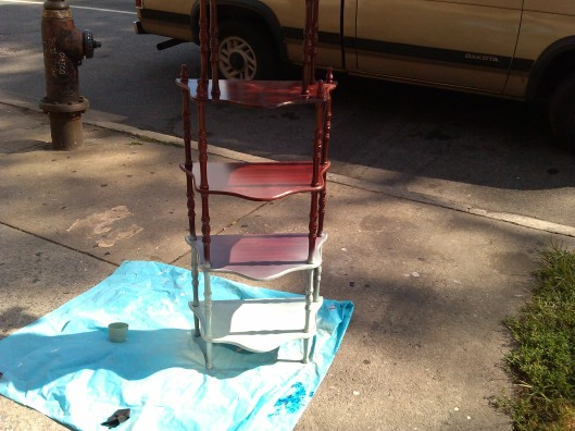 reburbished furniture DIY