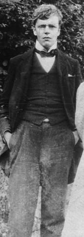 1898 photograph of G.K. Chesterton.