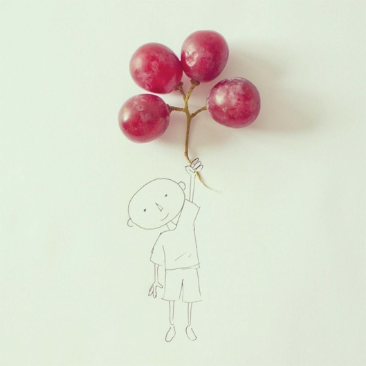 Balloon Grapes